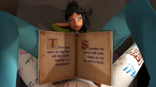 3D Animation – Hot Babysitter Woman