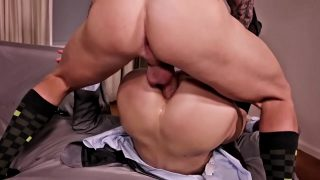 Dominant Hunk Trains My Ass