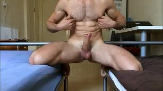 sexy guy jerk