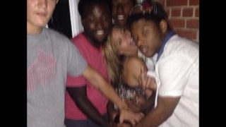 Sexy Teen Cheats On Boyfriend With Multiple Black Guys