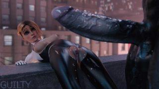 Spider-Gwen X Venom (GuiltyK)